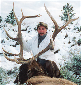 Tom Heintz with 346 bull elk