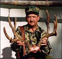 6x6 mule deer rack
